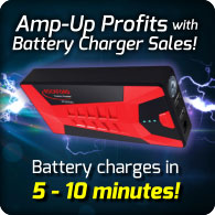 Rockford Battery Charger